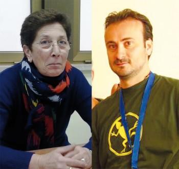 Luciana Minerba e Luca Sabato, presidenti di Aned a Aido