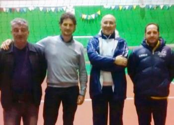 Da sin. Antonio Macrì, Davide Stamerra, Luciano Nassisi, Massimo Marzano