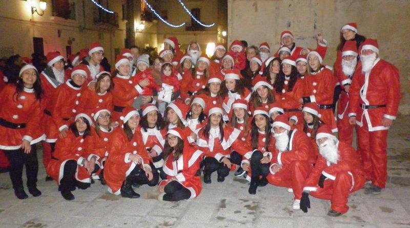 Una delle formazioni della Band di Babbo Natale in arrivo a Gallipoli il 21 dicembre