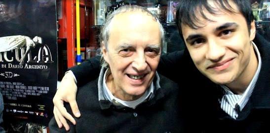 Dario Argento e Andrea Cavalera