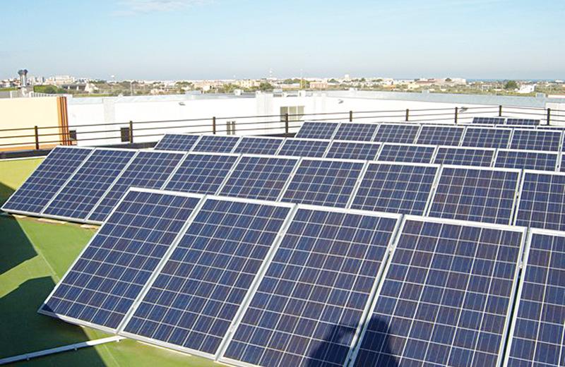 fotovoltaico generica per melissano