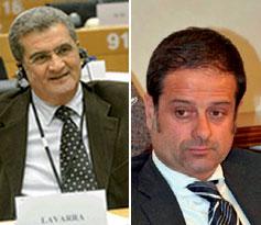 Enzo Lavarra e Fabrizio Nardoni