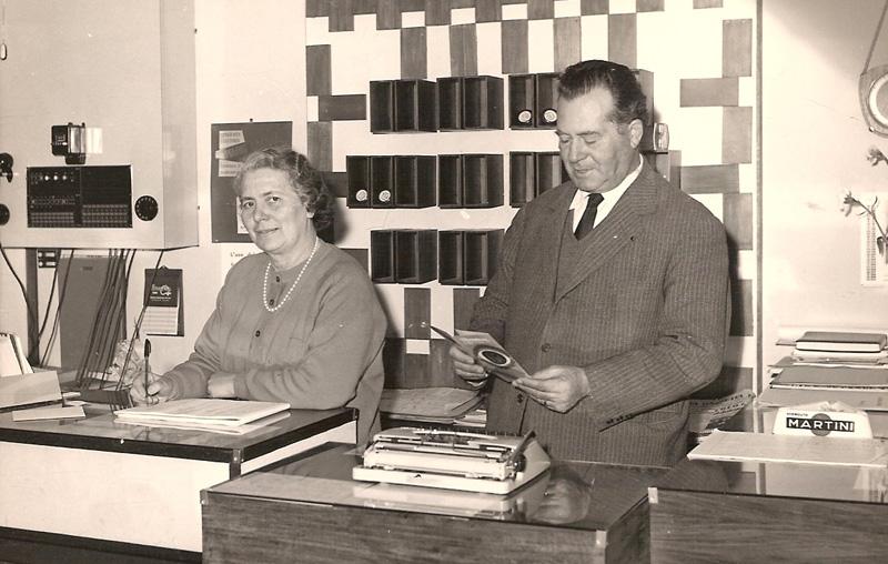 Gilda Nuzzolese e Attilio Caroli