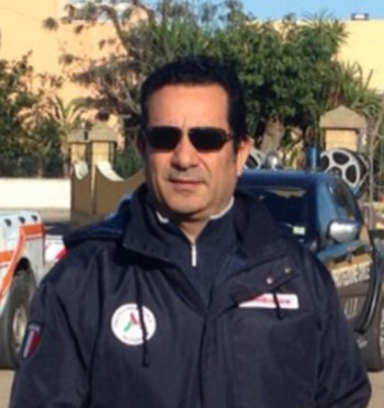 Sandro Noira coordinatore Protezione Civile