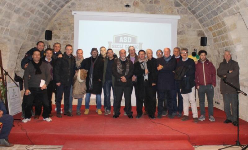 Giocatori e dirigenti a Palazzo Ducale per la festa