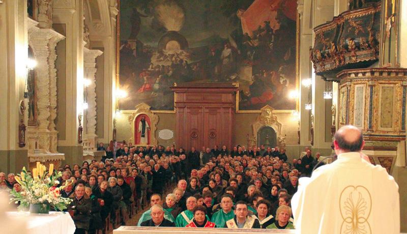 chiesa matrice- festa san giovanni 23.1.13 - foto pejro' -  casarano