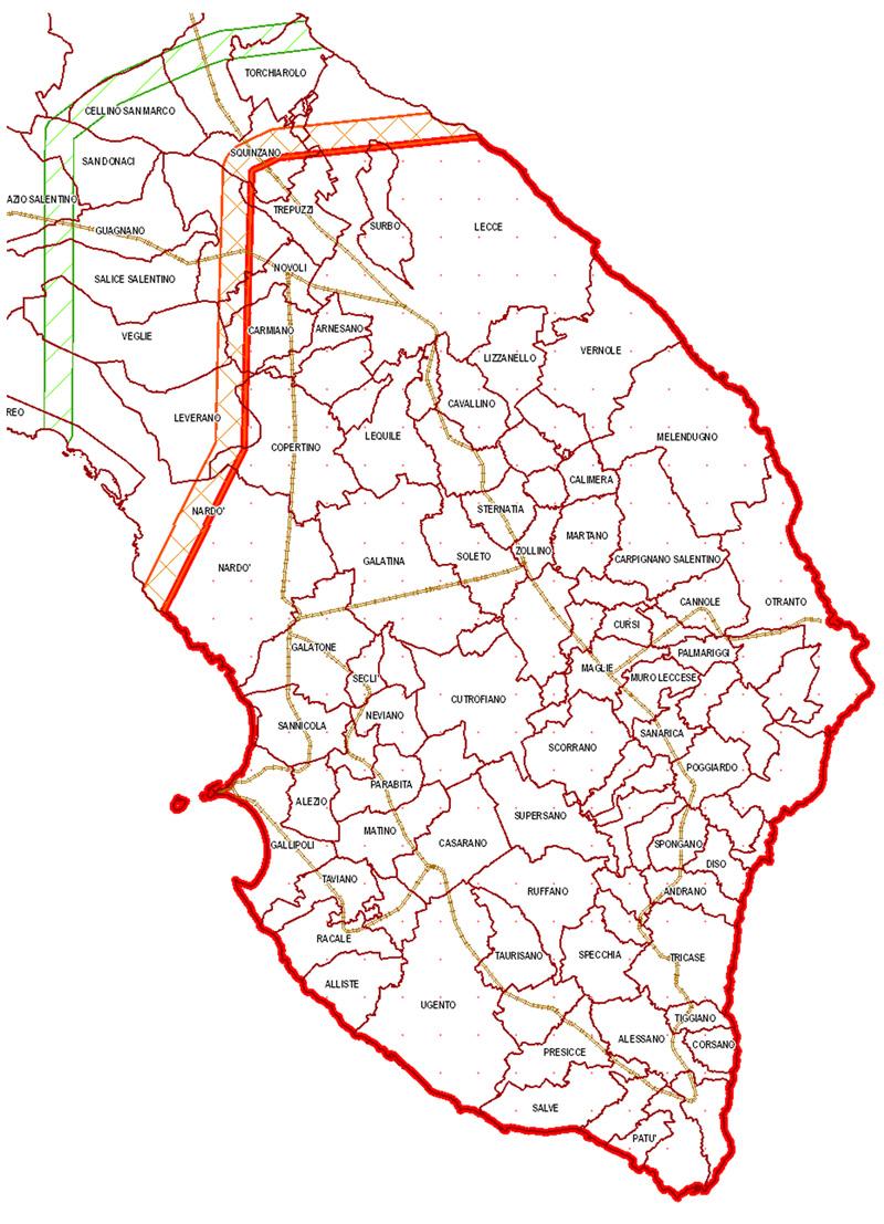 Mappa Xylella Puglia.Xylella Ecco La Mappa Del Contagio Domenica Assemblea A Racale Piazzasalento