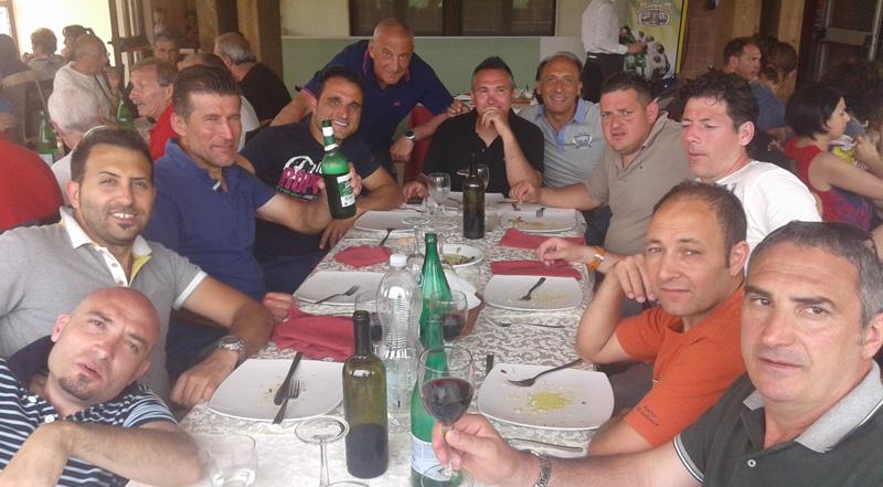 over 40 secli - Dopopartita Torneo Avigliano - Ristorante Tuccio