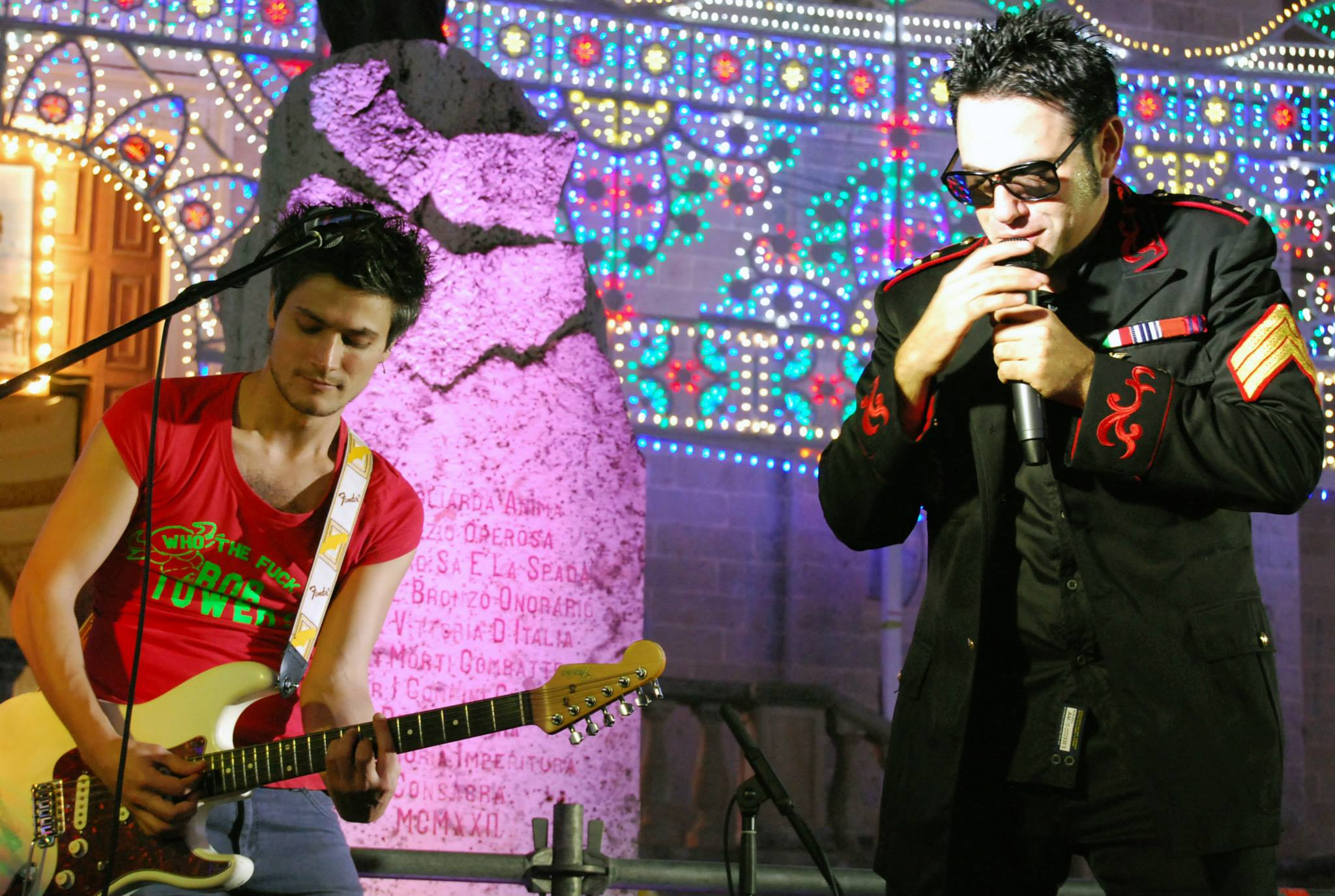 Matteo Tornesello e Giampiero Della Torre (foto di Francesca Leone)