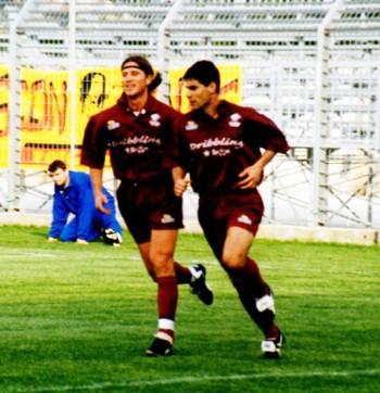 Daniele Vantaggiato (a sinistra)