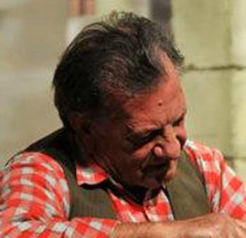 Gregorio Caputo, durante uno spettacolo