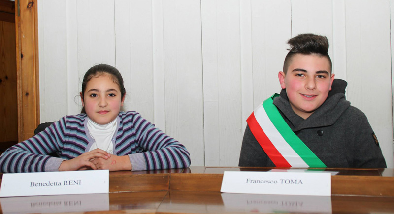benedetta reni e francesco toma - vice e sindaco baby  - foto pejro