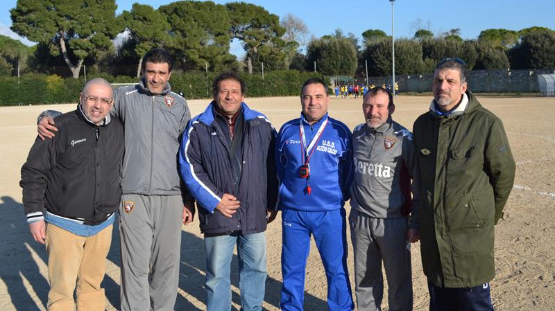 Da sinistra Mauro Bello, Marco Morra, Rocco De Giovanni, Cosimo Mega, Ermanno Di Maria e Guido Sansò