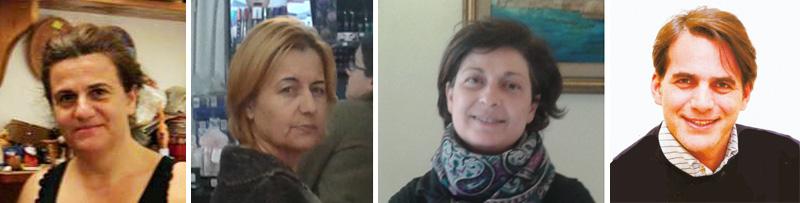 Da sinistra: Marcella Pisanello, Roberta Savino, Annunziata Fierro, Antonio Piteo, assessore al Centro storico e Commercio