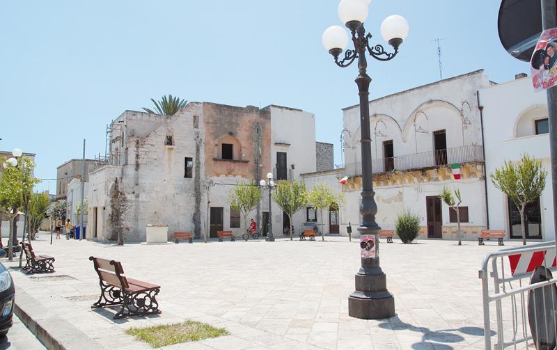 Piazza San Quintino ad Alliste