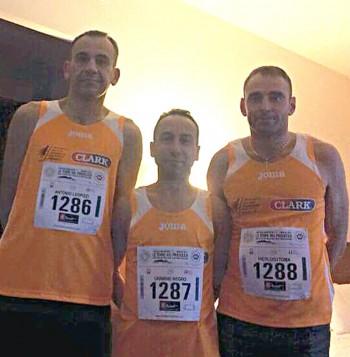 Da sinistra Antonio Leopizzi, Carmine Negro e Pierluigi Toma