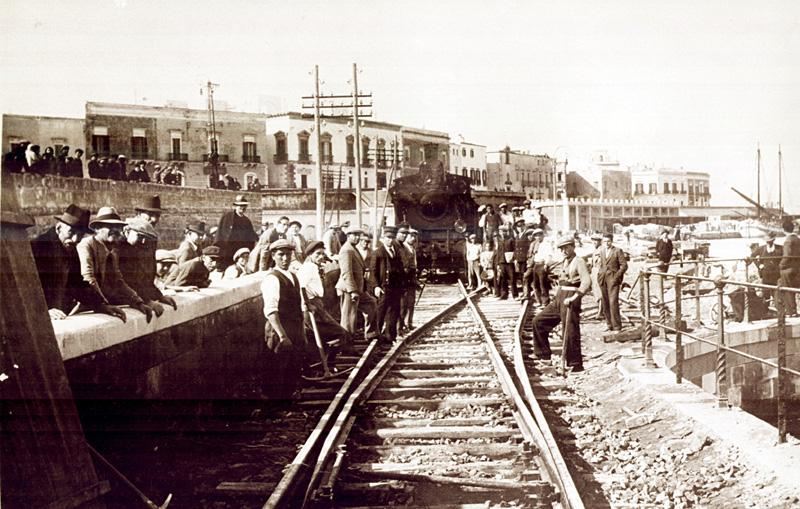 porto lavori raccordo  1934 (FSE)