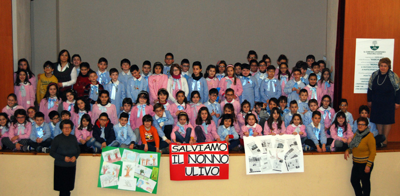 scuola elementare contro la xylella   (2)