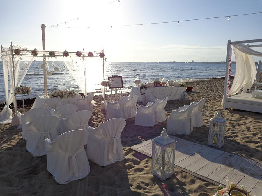 Matrimonio In Spiaggia Ugento : La nostra spiaggia picture of saracino beach lido marini
