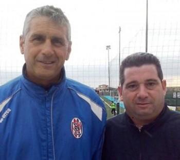 Da sinistra, Osvaldo Prete e Massimiliano Cataldo