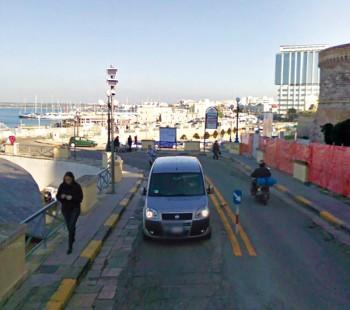 varco zona traffico limitato centro storico gallipoli