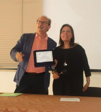 L'ingegnere Lele Pagliula e la dirigente Emilia Fracella
