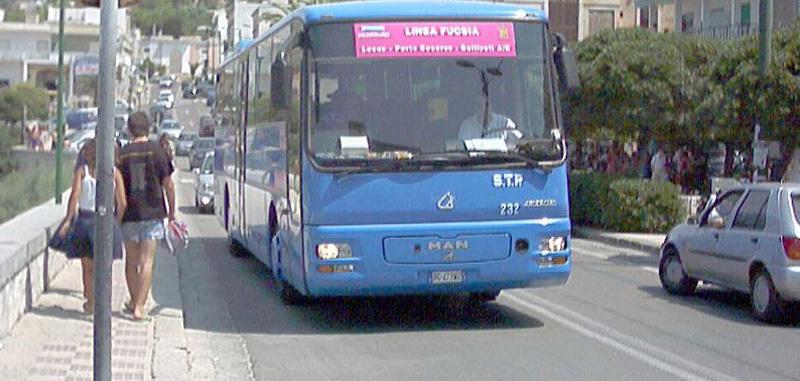 salento in bus