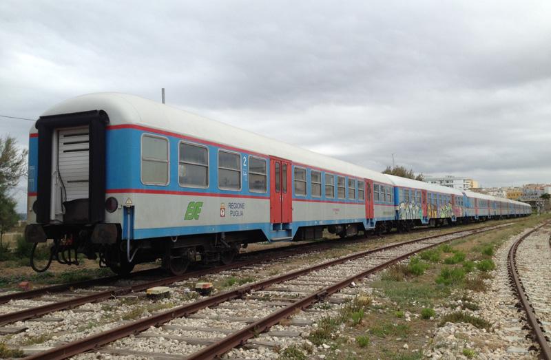 treni fse nuovi 2015 stazione gallipoli