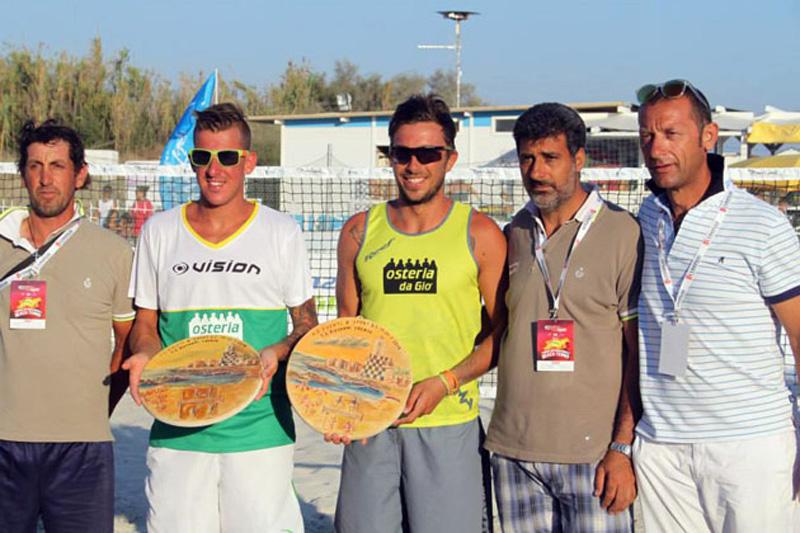 Beach tennis 2014 premiazione