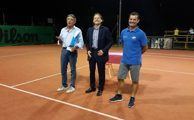 Da sinistra, Gabriele Onorato, Marcello Risi, Emiliano Baldassarre