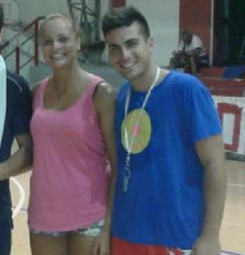 Federica Buccarella e Mattia Dantoni organizzatori volley summer bull
