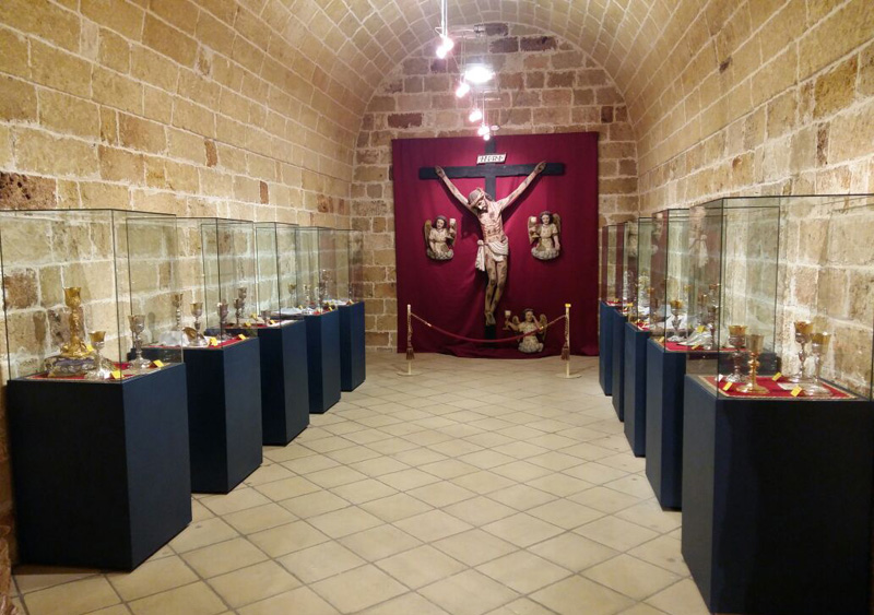 mostra calici museo diocesano