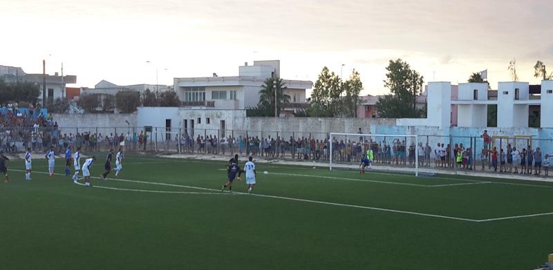 la rete di Doumbia - Foto SalentoSport.net