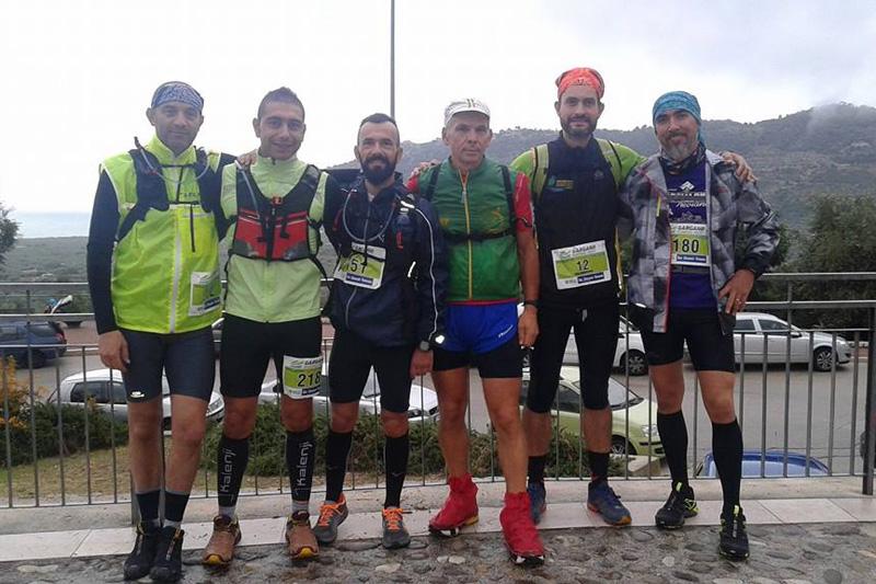 Fabrizio Rucco, Mauro Migliaccio, Alessandro Alemanno, Luigi Rizzo, Giuseppe Spenga, Graziano Diso; sotto, Alessandro Alemanno