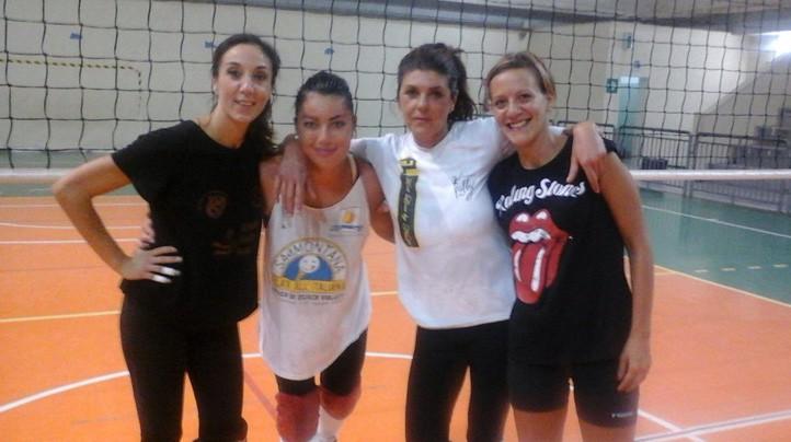 Da sinistra Katia Anastasia, Paola Bellisario, Alessandra Stefanelli e Valeria Spano
