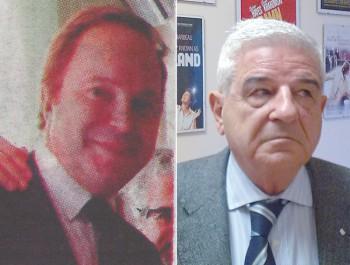 Il vice presidente Zonno e Martino Nicolazzo di Elata srl