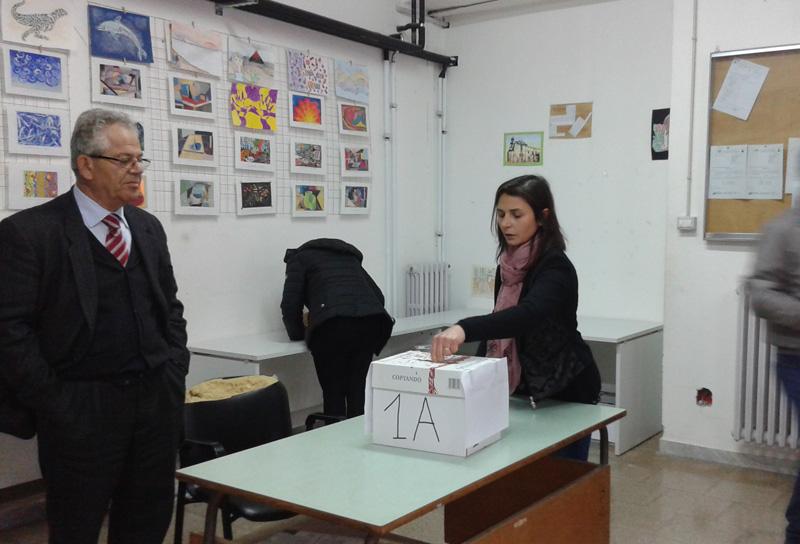 votazion a scuola