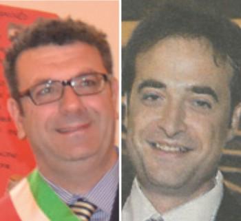 Il sindaco Daniele Perulli e Stefano Chezzi
