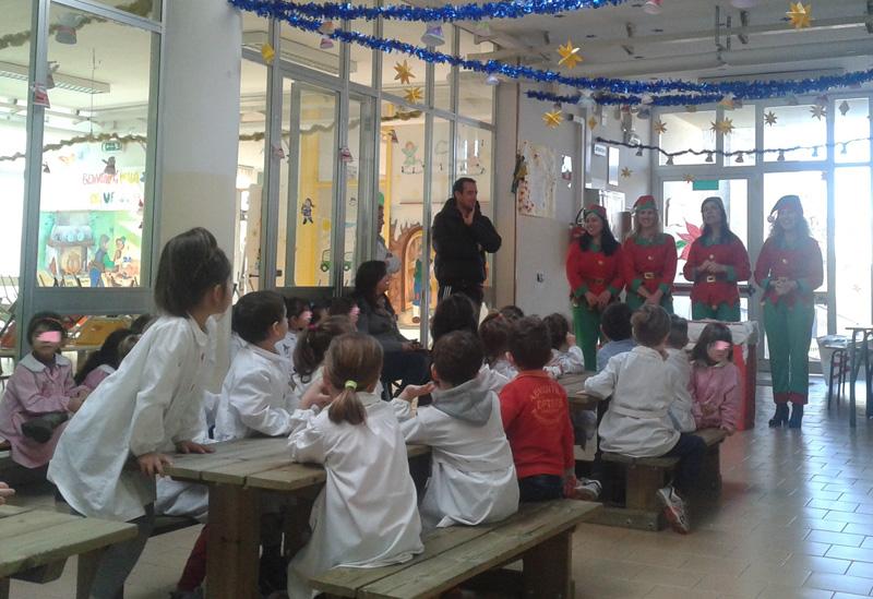 le elfe a scuola