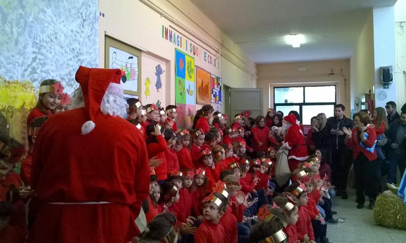 La festa di fine anno all'asilo nido