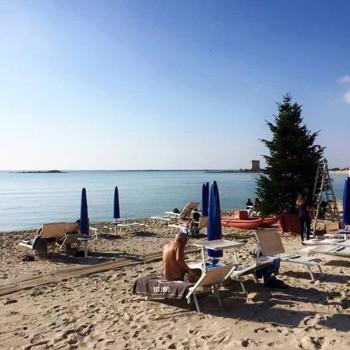 natale sulla spiaggia porto cesareo