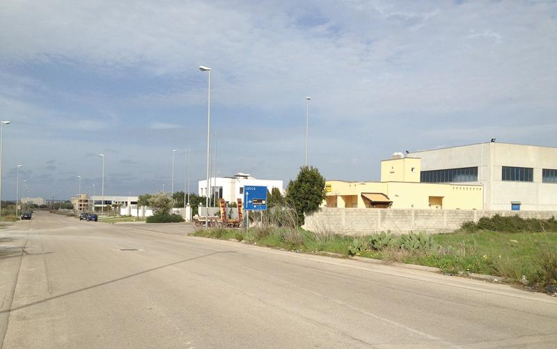 zona industriale gallipoli