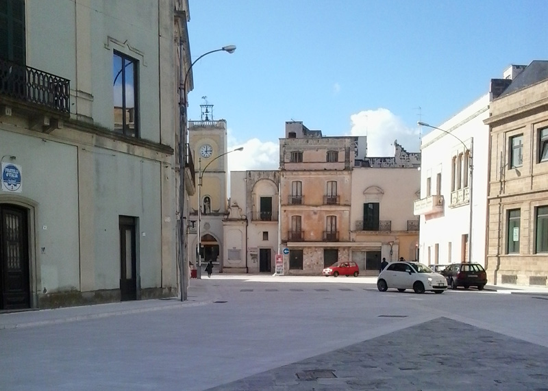 Piazza San Nicola (3) - Aradeo