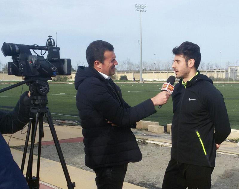 DANIELE GRECO intervistato da TG NEWS24 SKY
