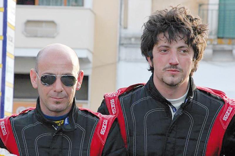 Fernando Sorano (di Casarano) e Francesco Rizzello (di Ruffano) - Casarano Rally team