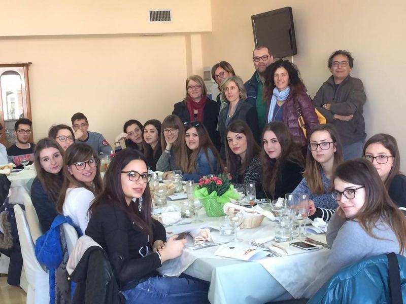 """Molto """"appetitoso"""" l'incontro con compagni provenienti dal Piemonte"""