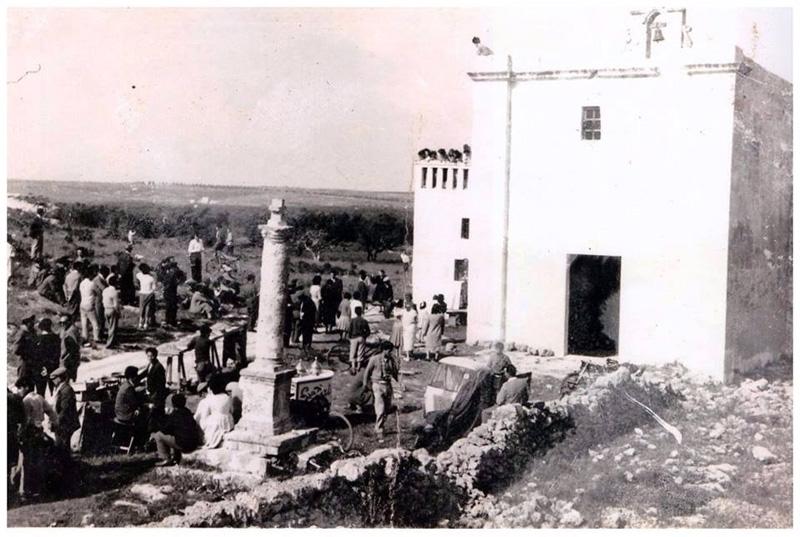 crocifisso del monte - foto storica - sannicola