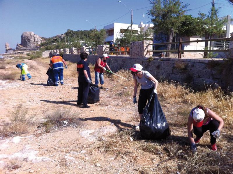 pulizia spiaggia 2013 sannicola  (2)