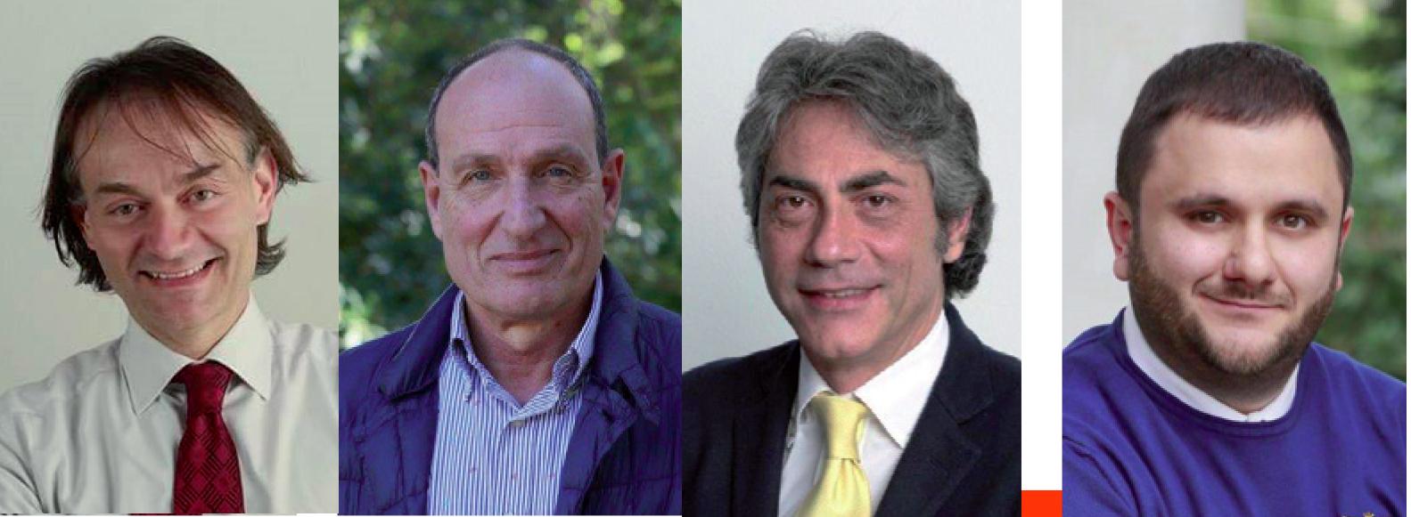 Marcello Risi, Antonio Vaglio, Massimo De Marco, Pippi Mellone
