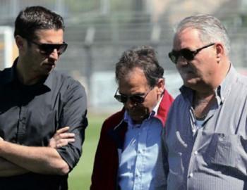 Andrea Corallo, Maurizio Fanuli e Maurizio Fiorentino